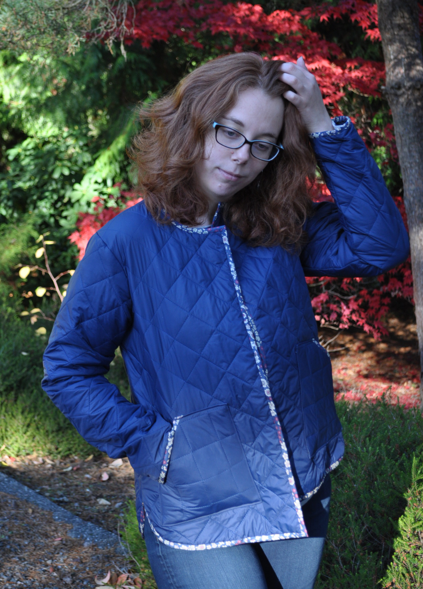 Nylon Tamarack Jacket Fall Colors | Style Maker Fabrics