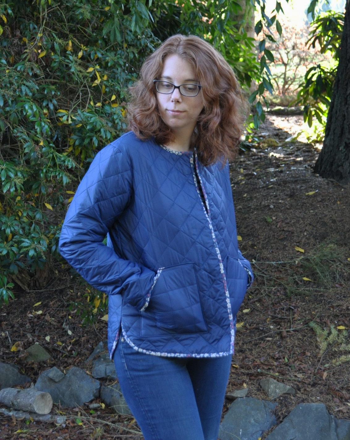 Nylon Tamarack Jacket Front | Style Maker Fabrics