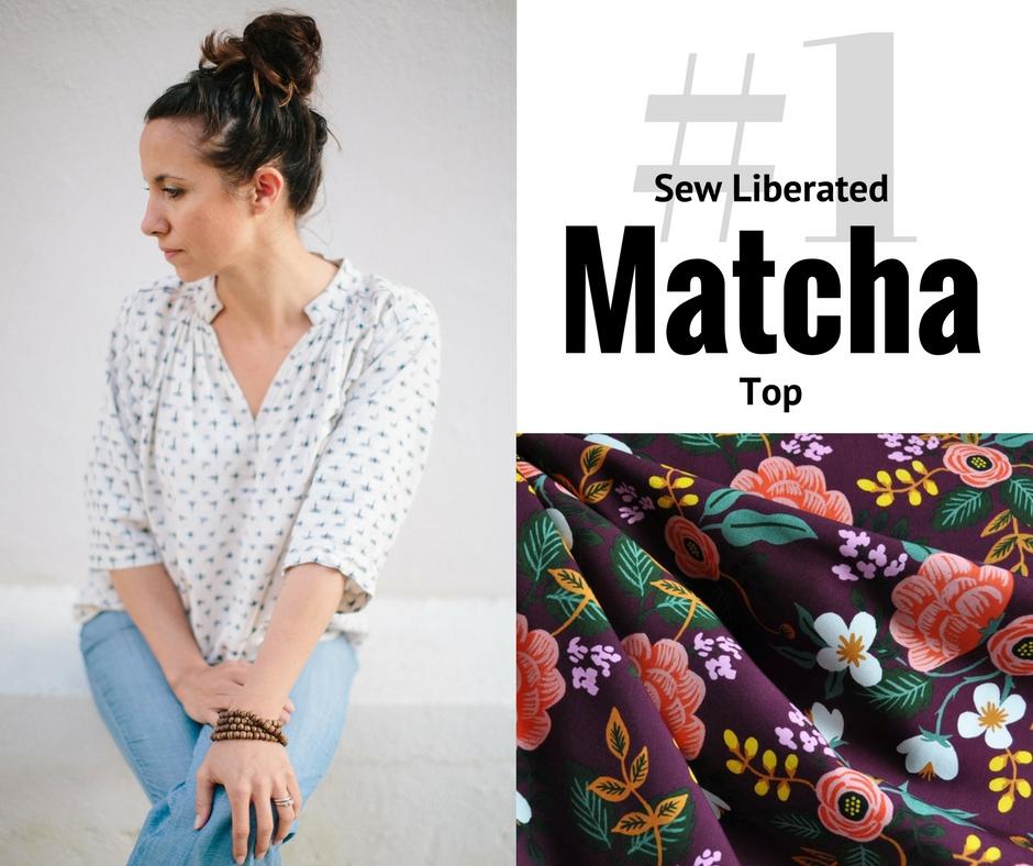 Pick 1 - Matcha Top | Style Maker Fabrics