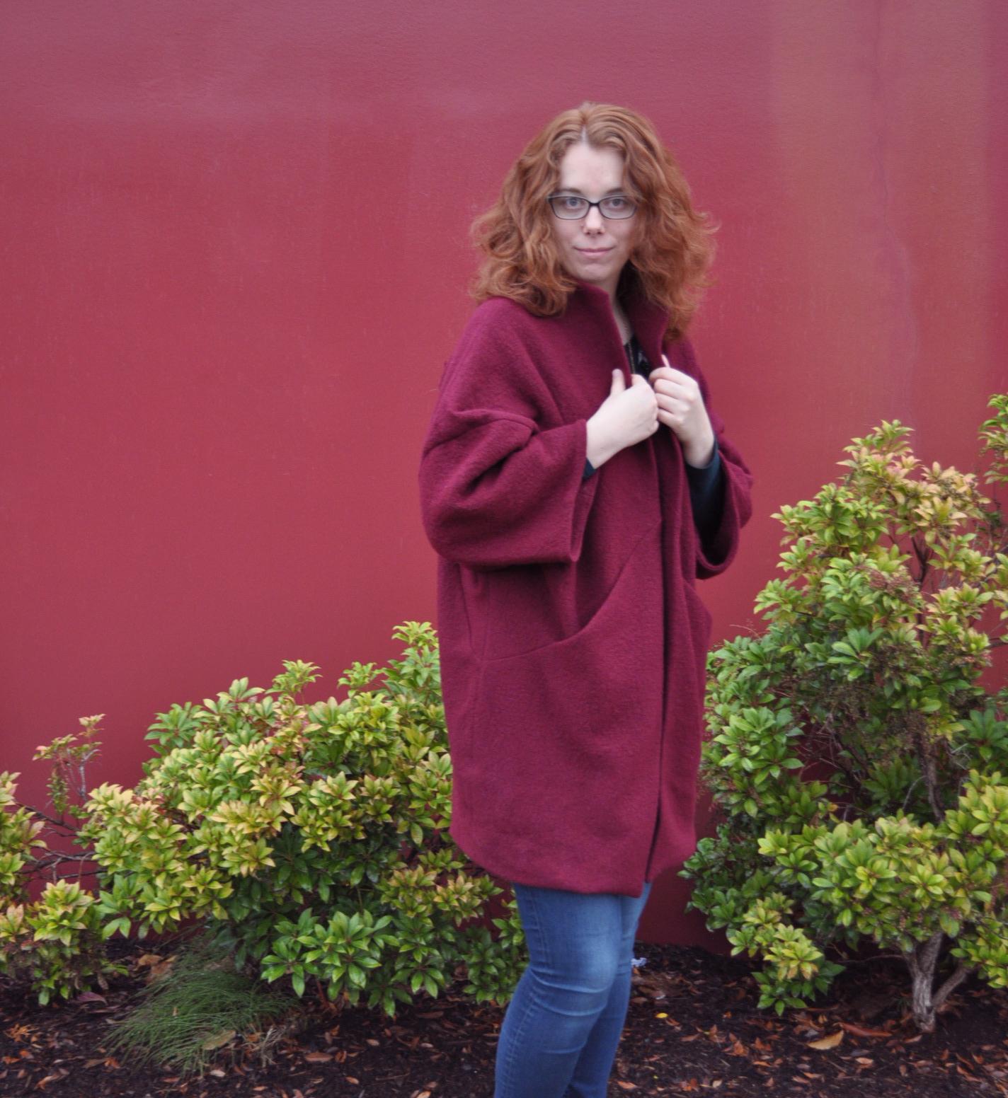 Sapporo Coat Front Collar | Style Maker Fabrics