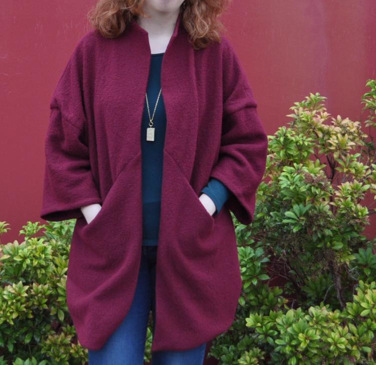 Sapporo Coat Side Wide | Style Maker Fabrics