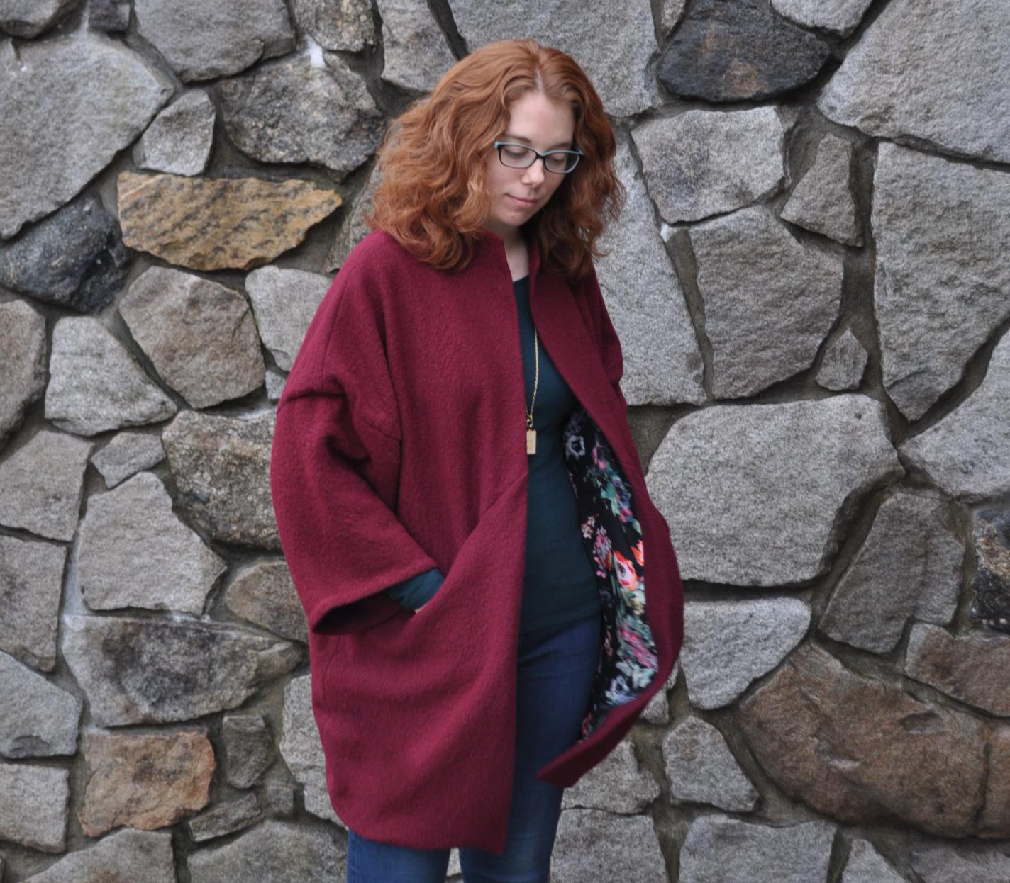Sapporo Coat Lining Peek | Style Maker Fabrics