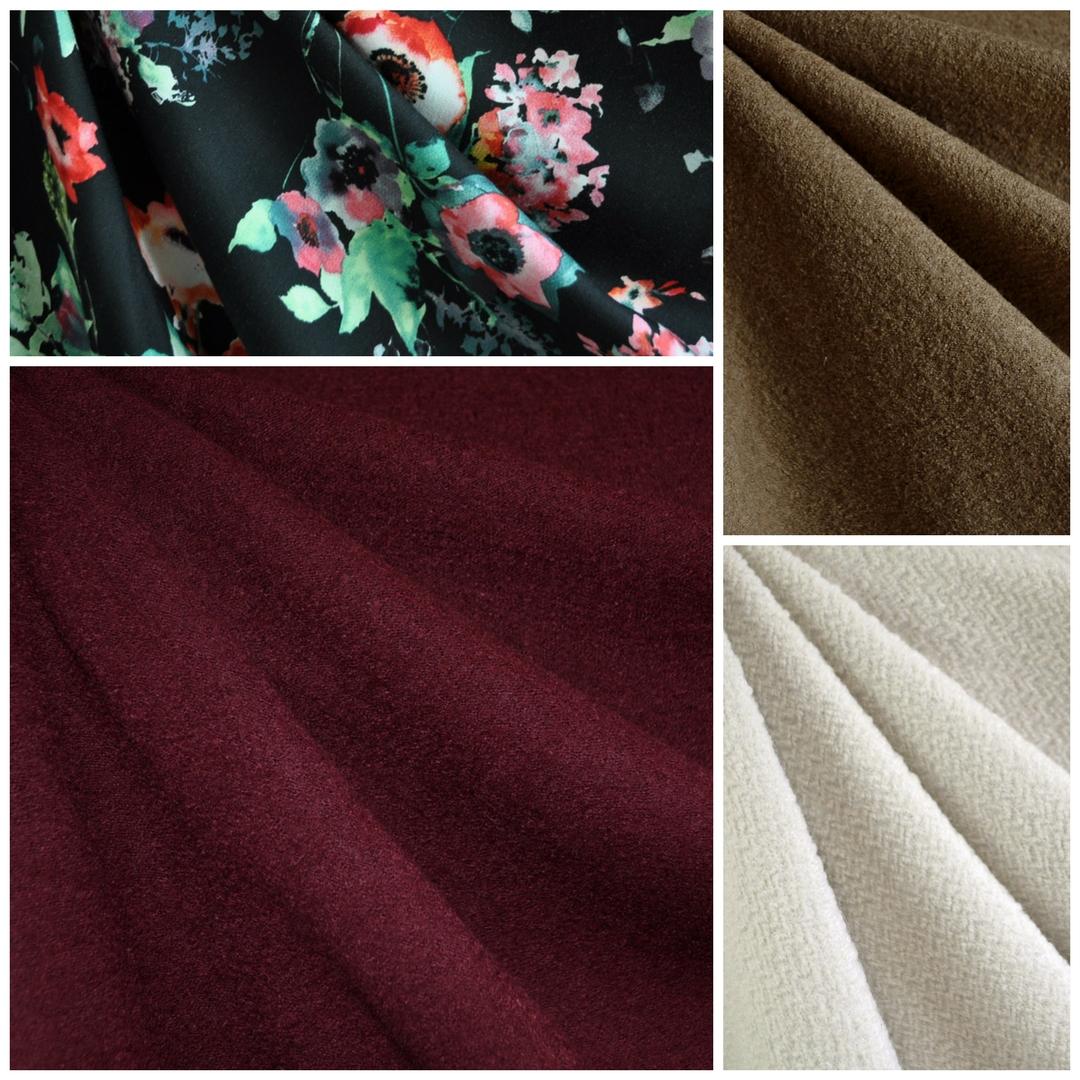 Sapporo Coat Fabrics Choices | Style Maker Fabrics