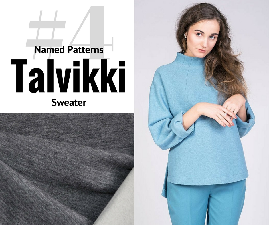 Pick 1 - Talvikki Sweater | Style Maker Fabrics