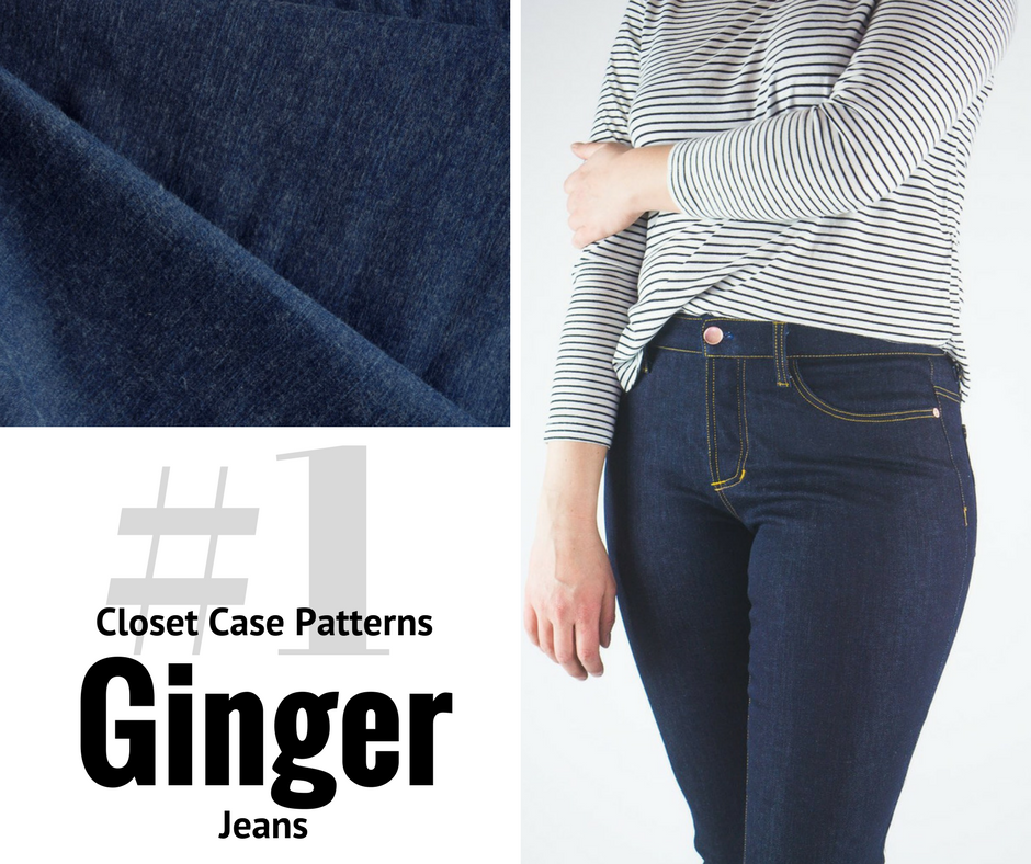 2018 Sewing Goal—Ginger Jeans | Style Maker Fabrics