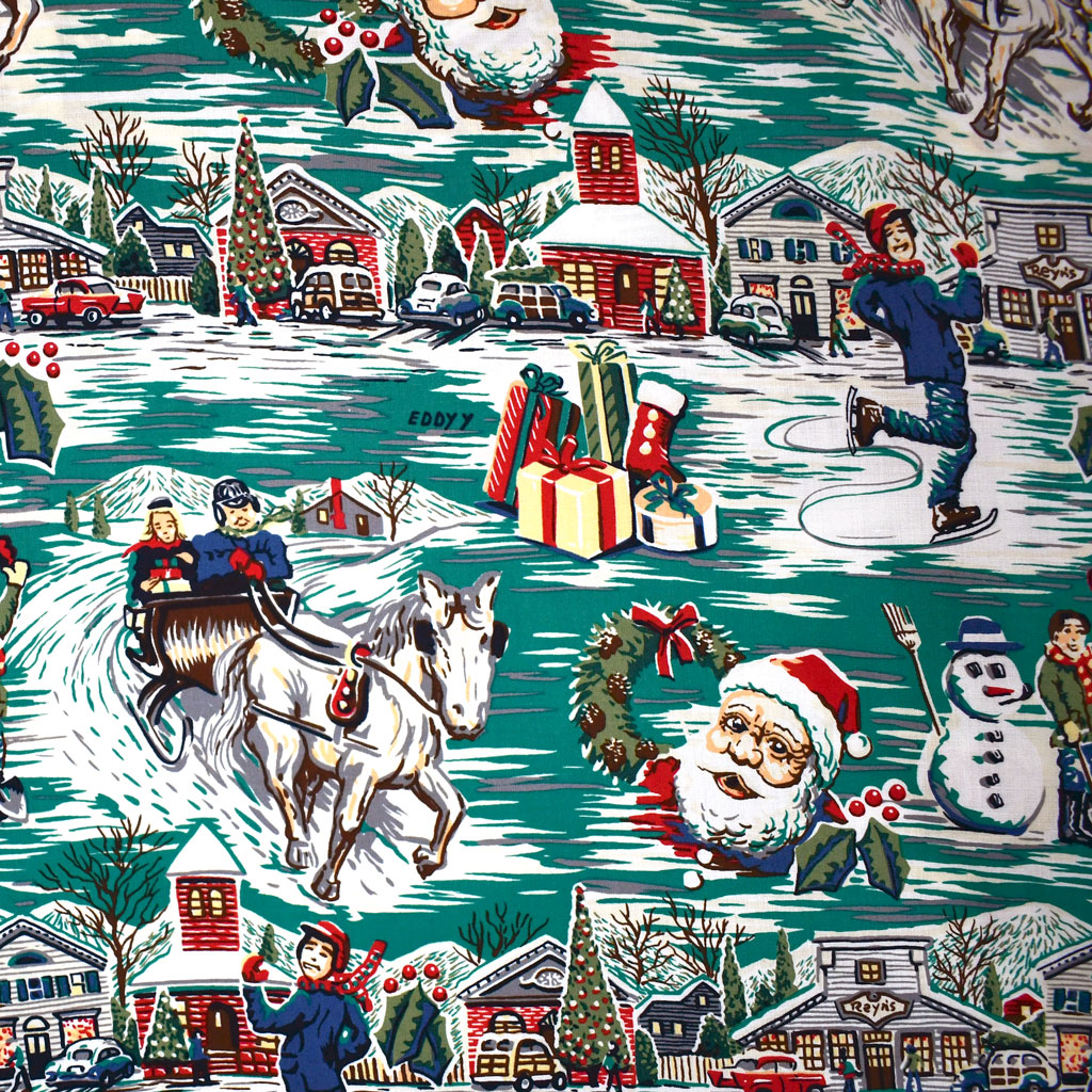 Christmas Traditions Rayon Flat | Style Maker Fabrics