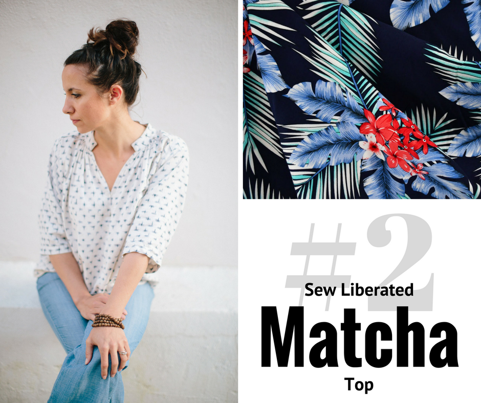 2018 Sewing Goal—Matcha Top | Style Maker Fabrics