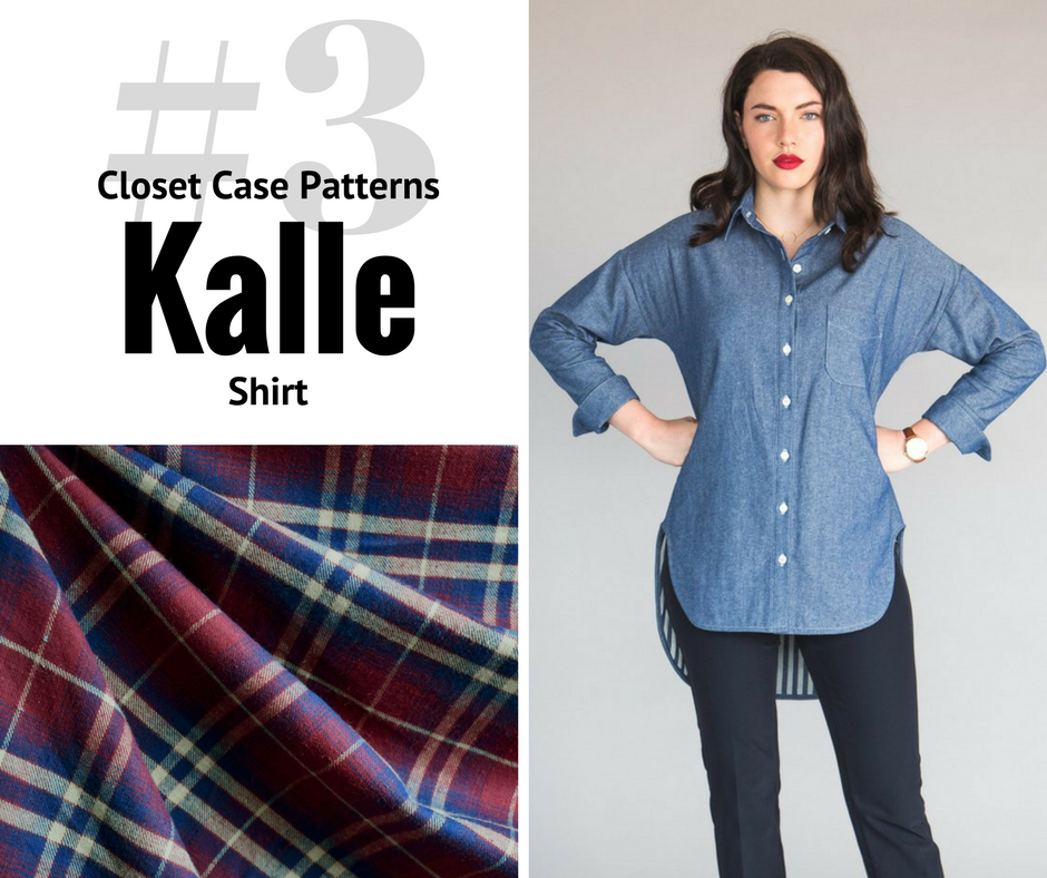 2018 Sewing Goal—Kalle Shirt | Style Maker Fabrics