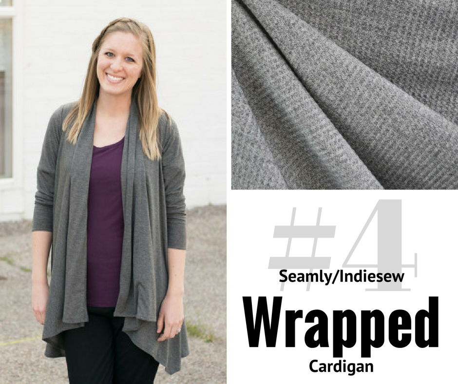 2018 Sewing Goal—Wrapped Cardigan   Style Maker Fabrics