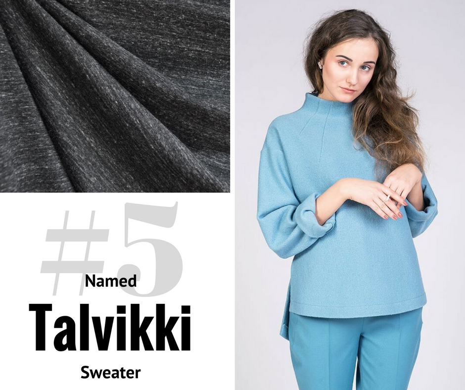 2018 Sewing Goal—Talvikki Sweater | Style Maker Fabrics