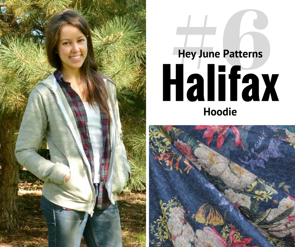 2018 Sewing Goal—Halifax Hoodie | Style Maker Fabrics