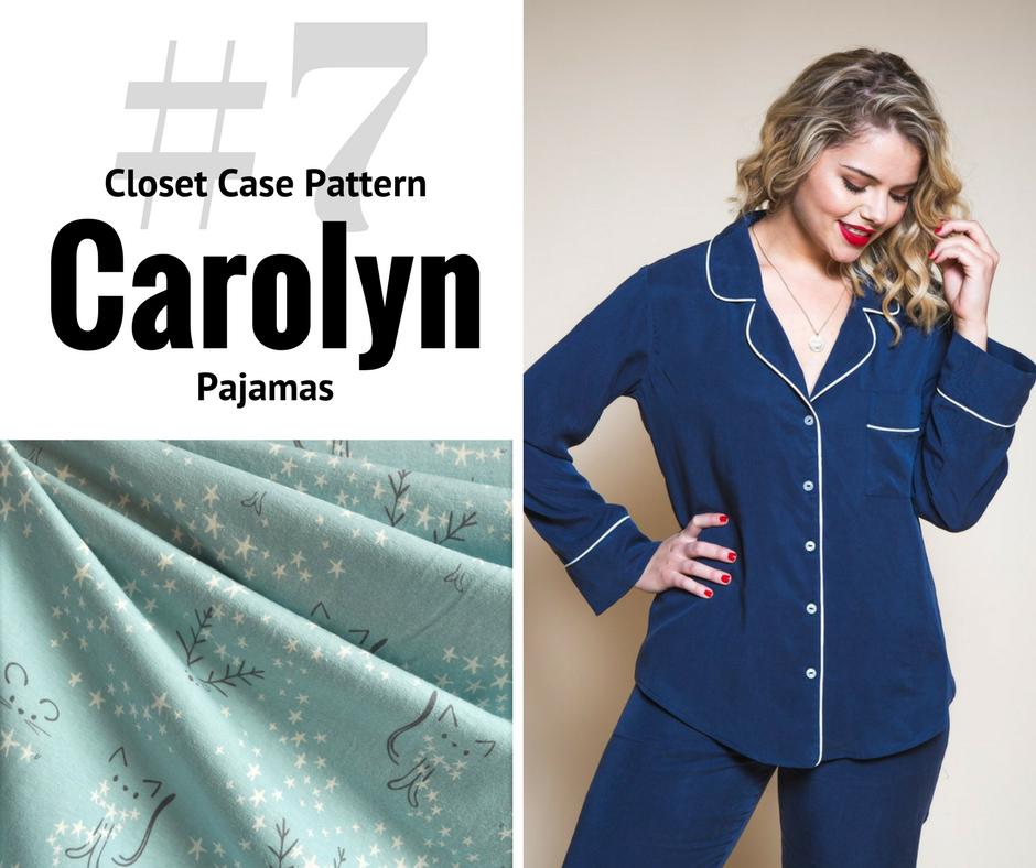 2018 Sewing Goal—Carolyn Pajamas | Style Maker Fabrics