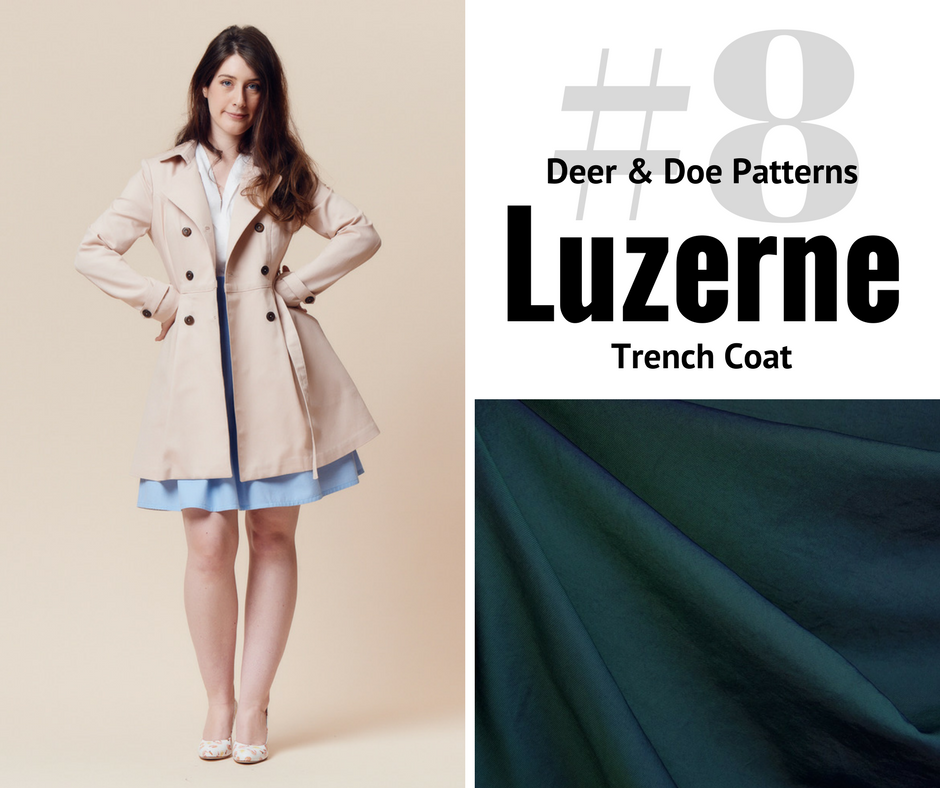 2018 Sewing Goal—Luzerne Trench | Style Maker Fabrics