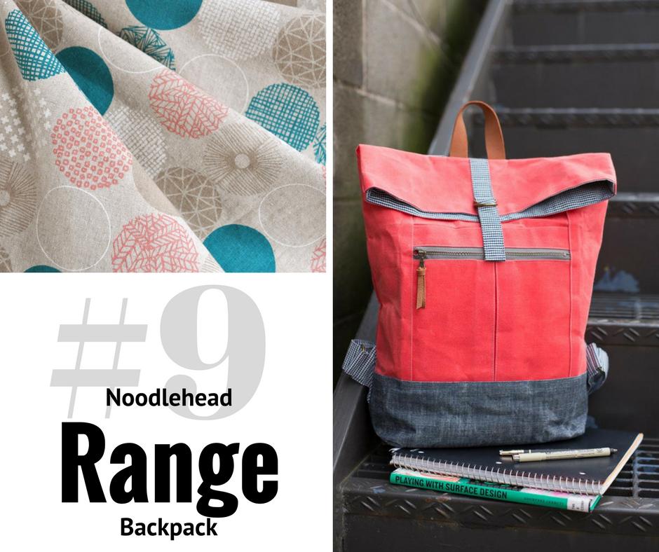 2018 Sewing Goal—Range Backpack  Style Maker Fabrics