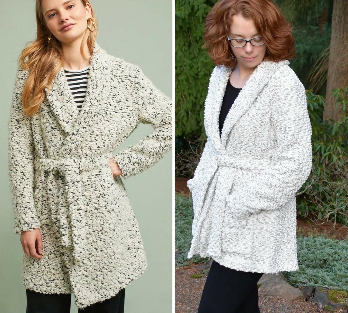 Coatigan v. Coatigan | Style Maker Fabrics