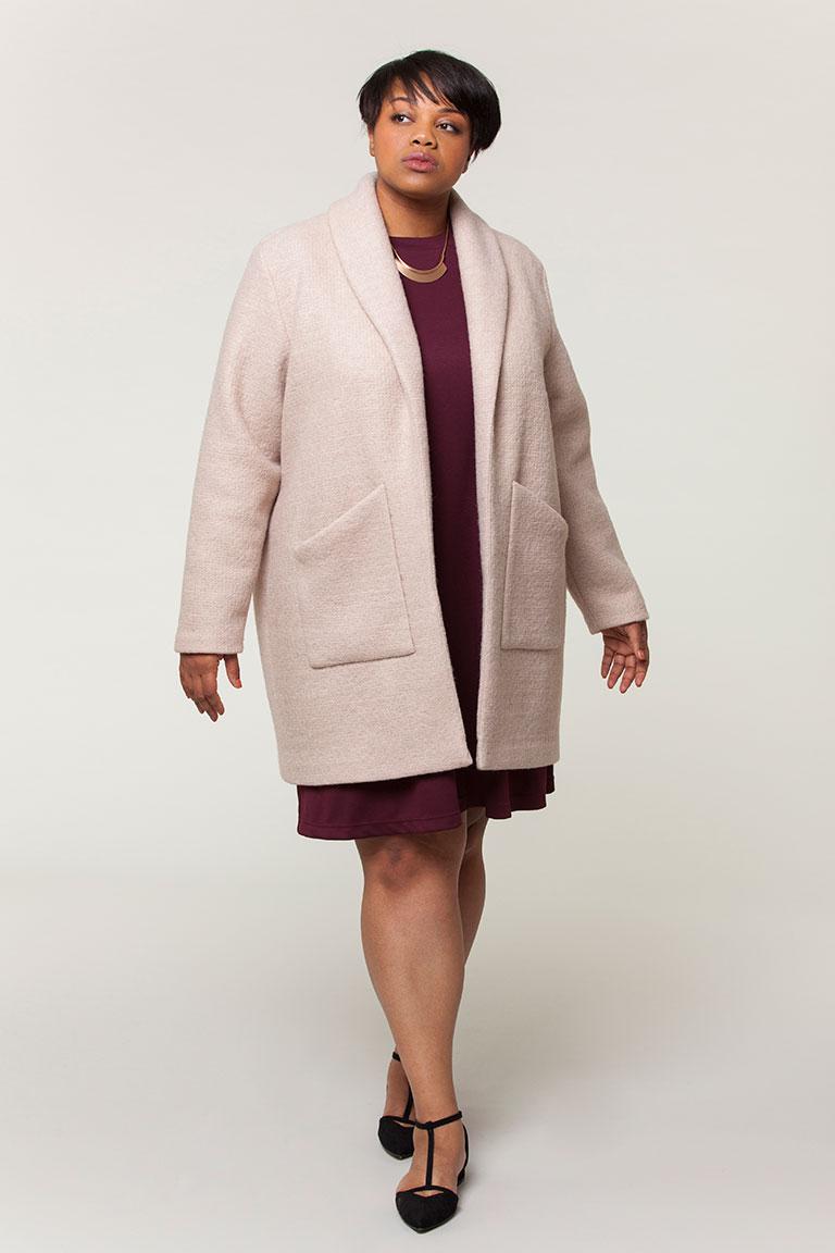 Seamwork Jill Coatigan | Style Maker Fabrics