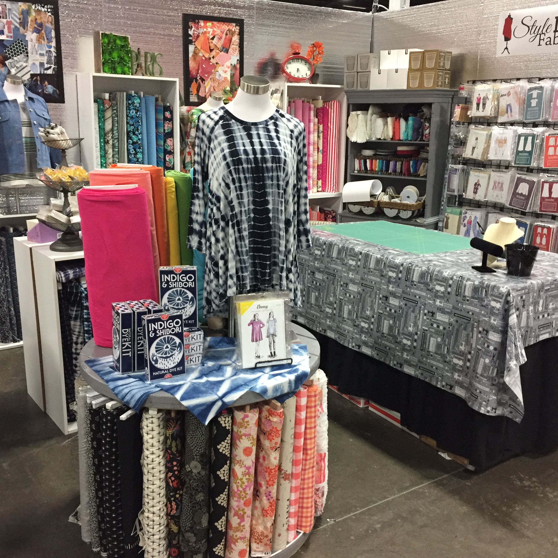 Sewing and Stitchery Expo 2017   Style Maker Fabrics
