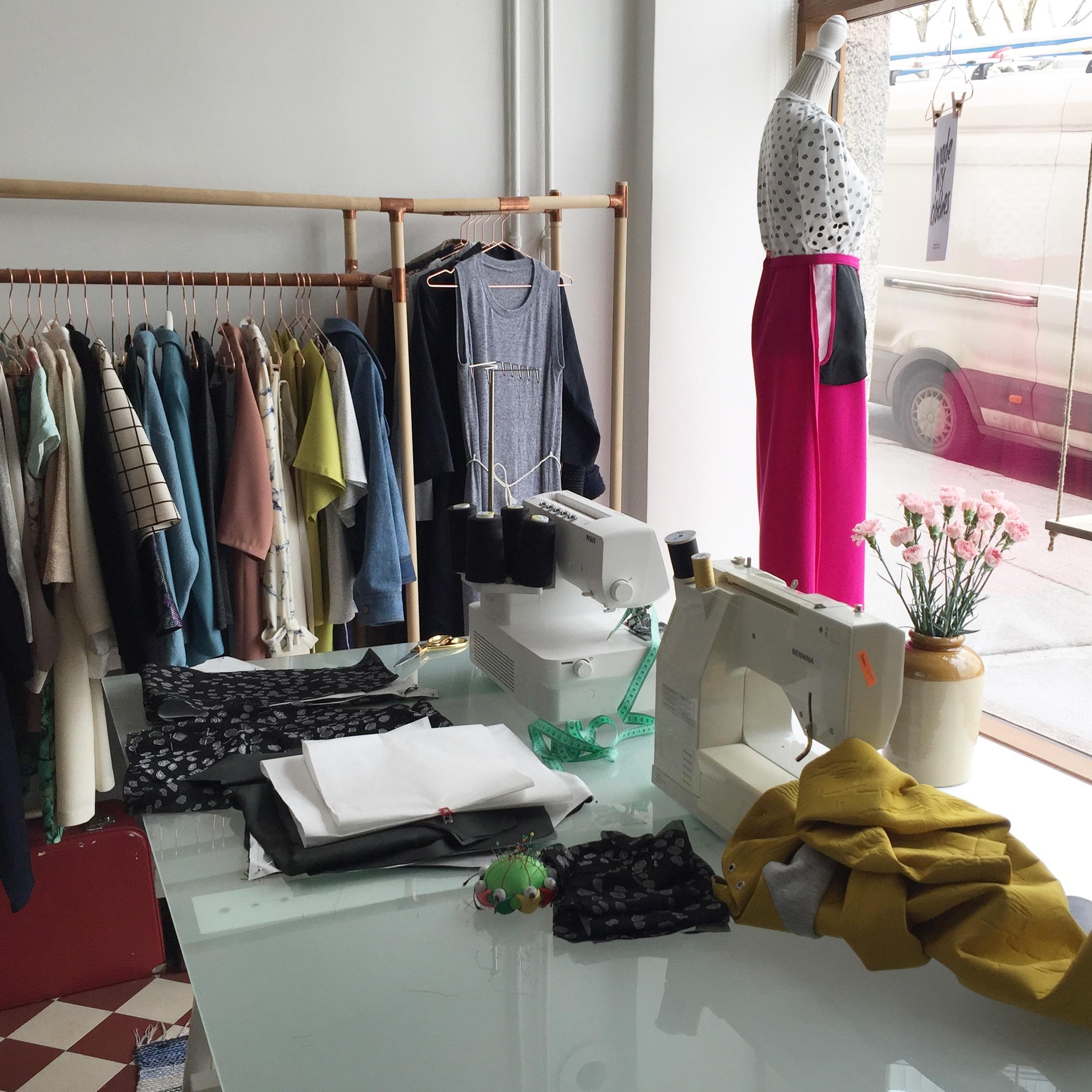 Visit to Named Clothing   Style Maker Fabrics
