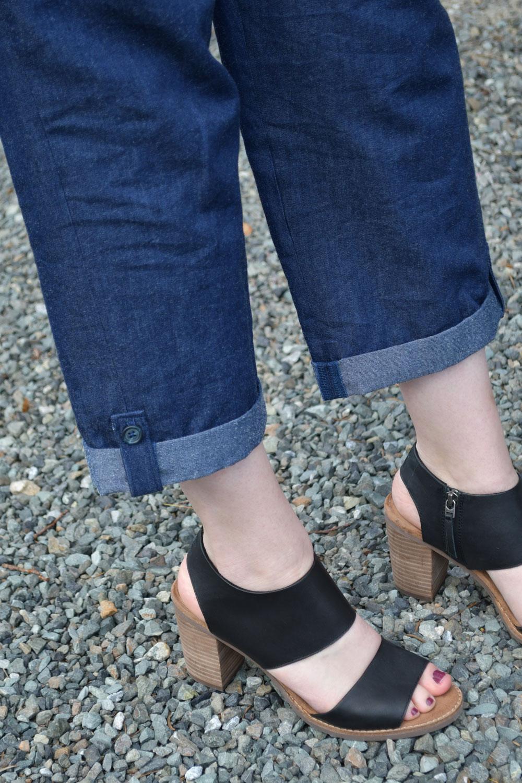 Cuffed Alexandria Trousers | Style Maker Fabrics