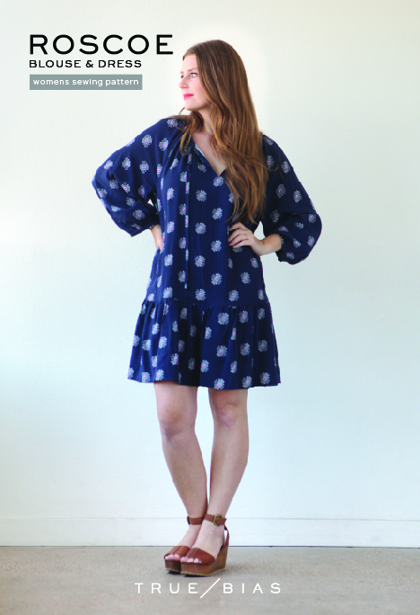 Roscoe Sewing Pattern | Style Maker Fabrics
