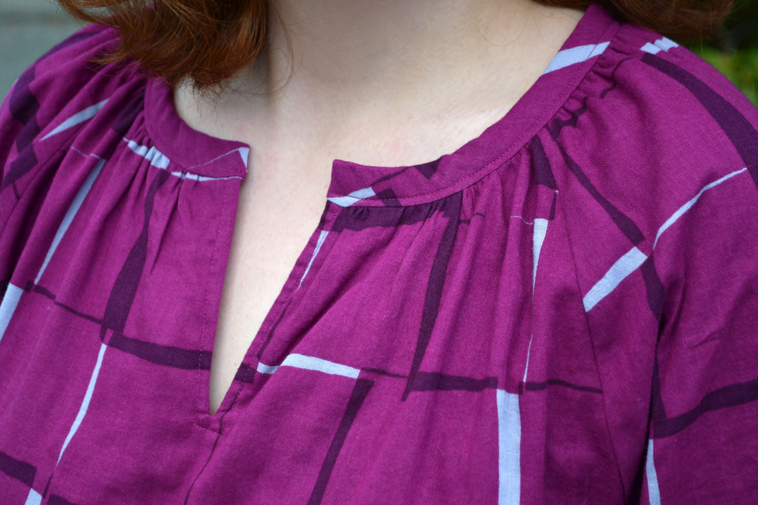 Roscoe Neckline Closer Look | Style Maker Fabrics