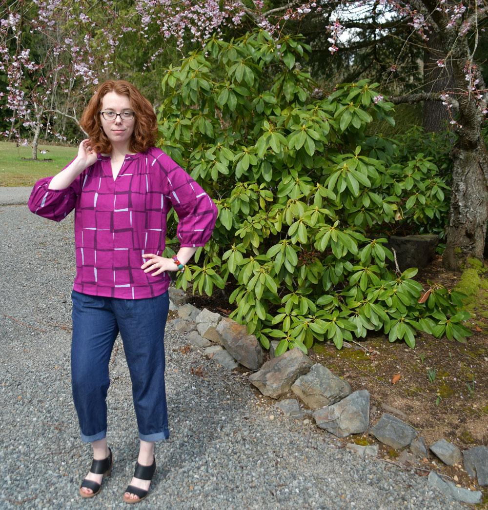 Roscoe-Alexandria Spring Look | Style Maker Fabrics