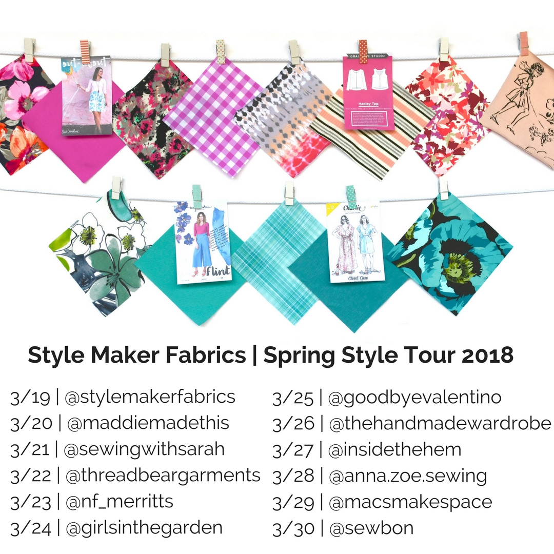 Spring Style Tour Line Up | Style Maker Fabrics