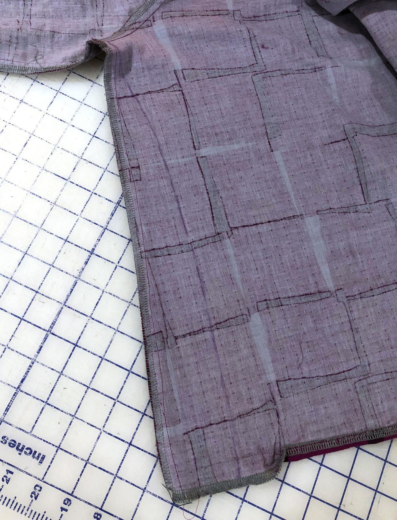 Adjusting the Roscoe Fit | Style Maker Fabrics