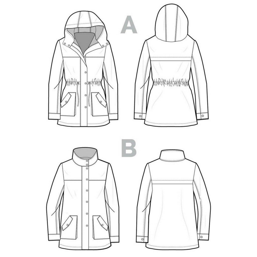 Kelly Jacket Outlines | Style Maker Fabrics