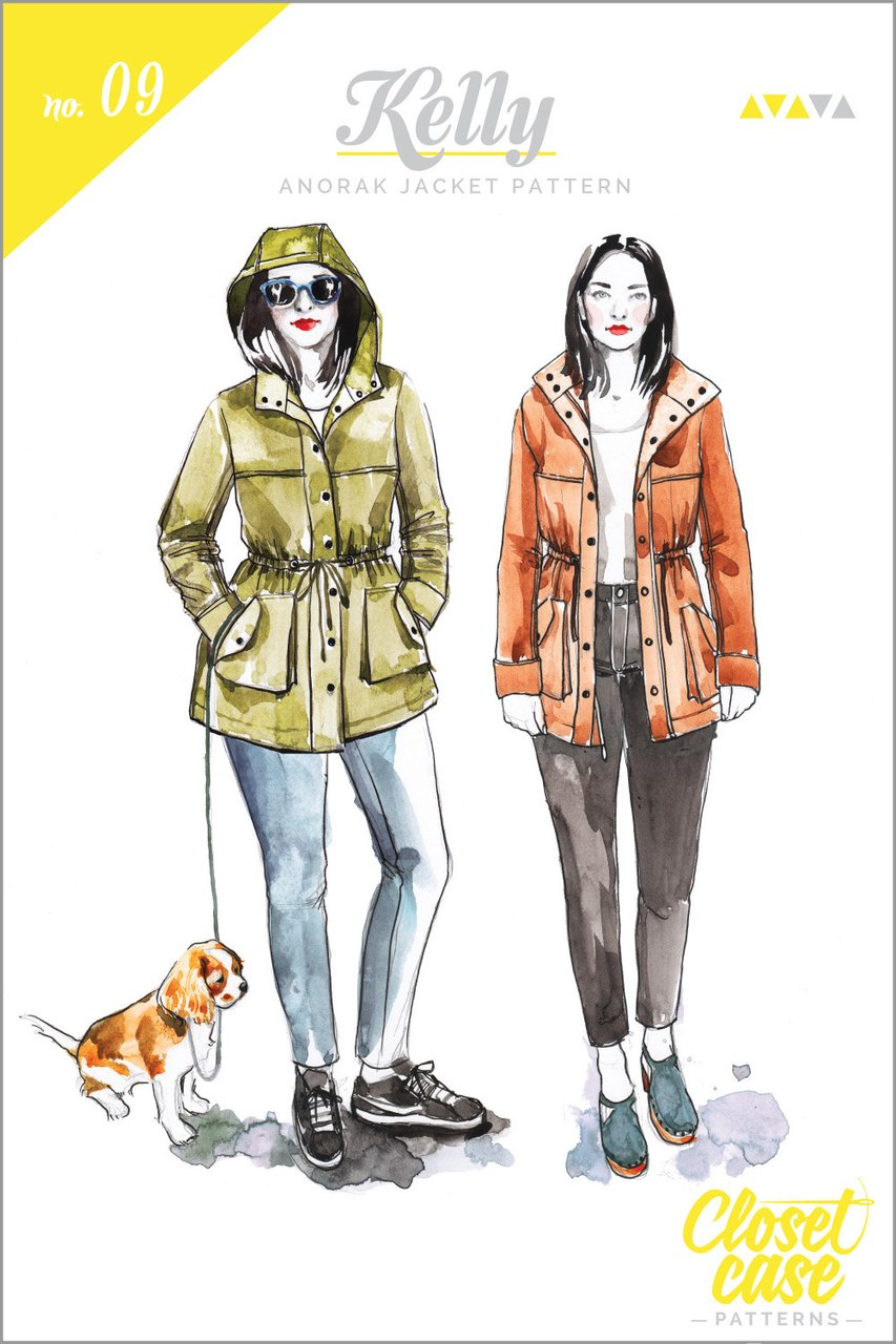 Kelly Anorak Jacket | Style Maker Fabrics