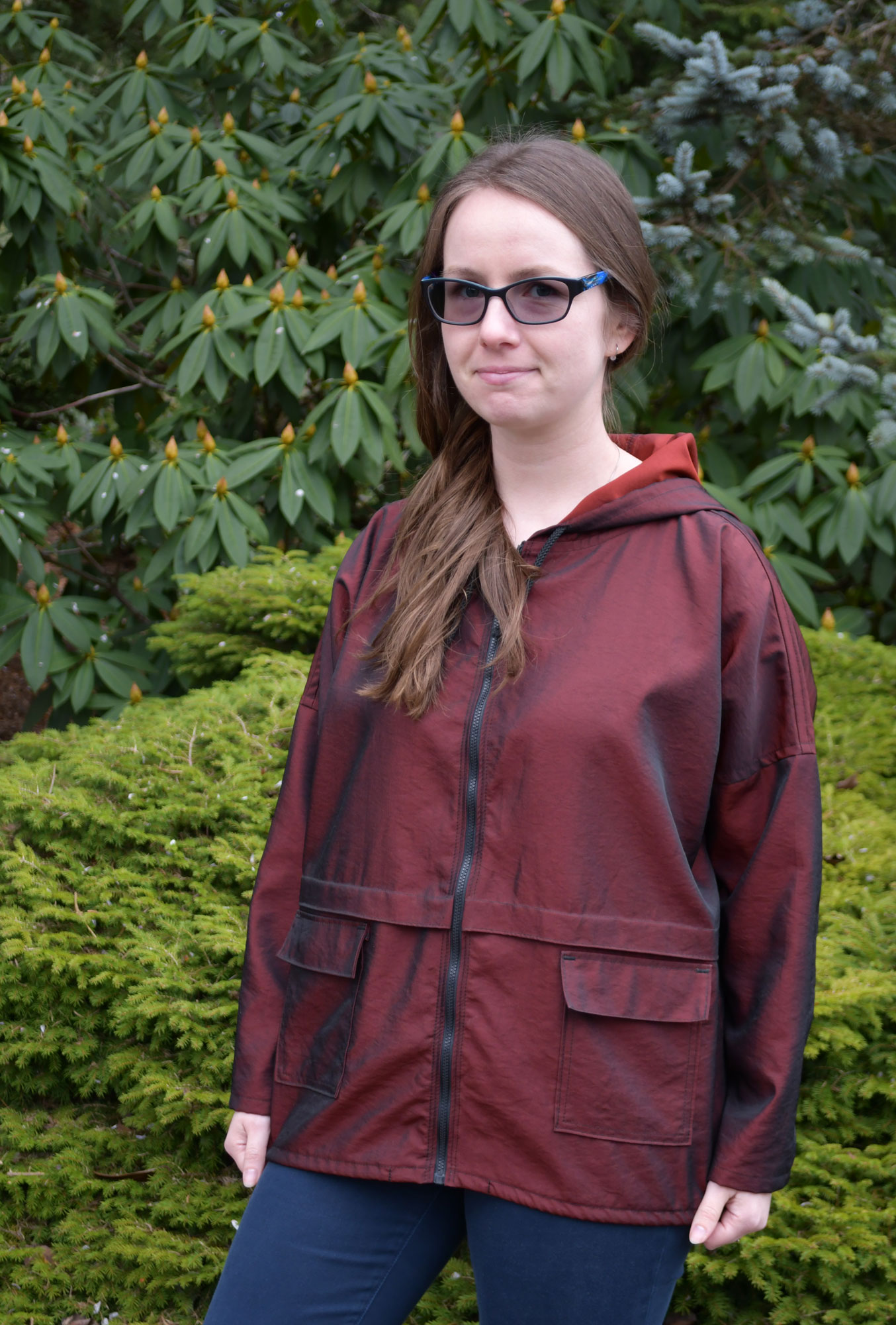 Completed Hooded Parka | Style Maker Fabrics