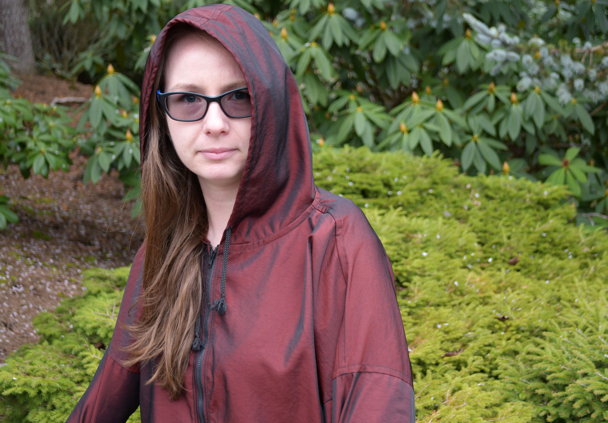 Hooded Parka Front | Style Maker Fabrics