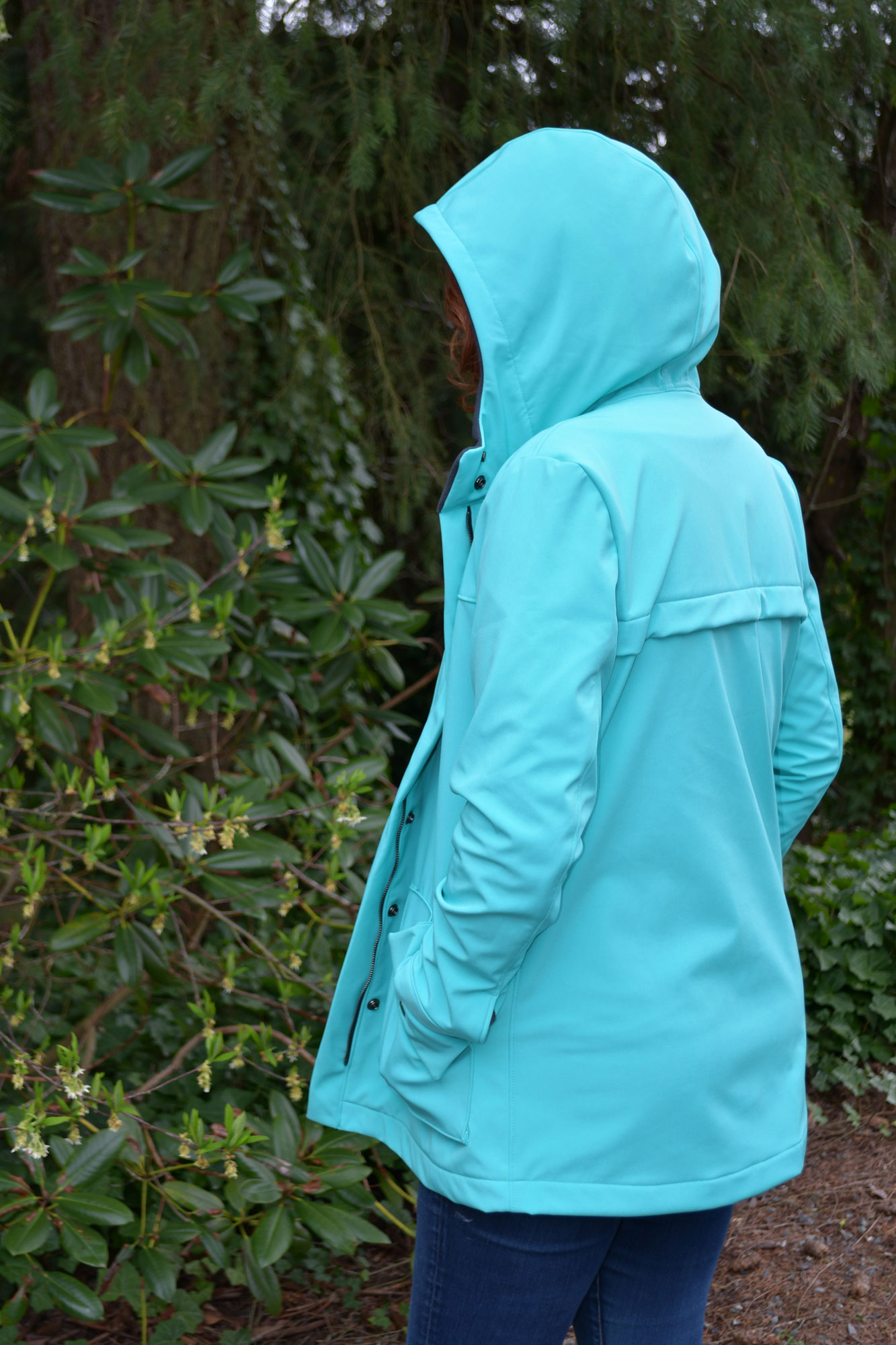 Soft Shell Kelly Jacket Back | Style Maker Fabrics