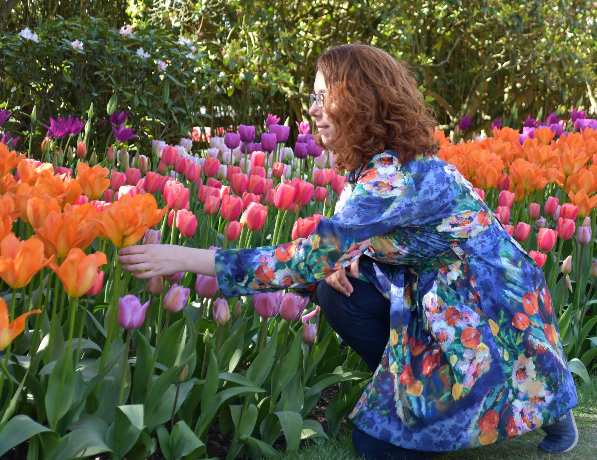 Tulip Luzerne Trench Kneeling | Style Maker Fabrics