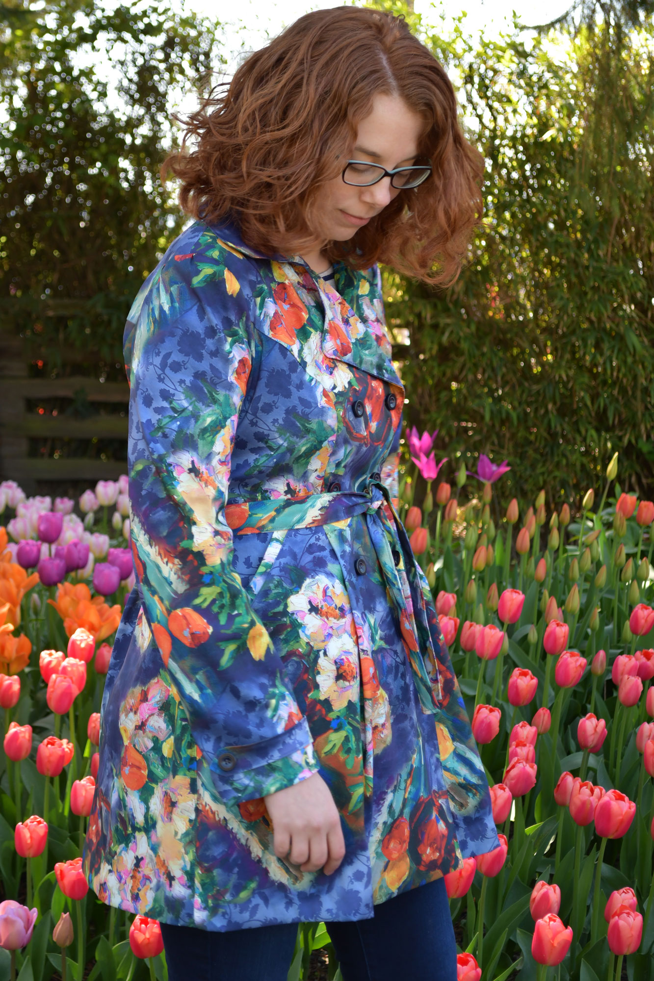 Tulip Luzerne Trench Side | Style Maker Fabrics