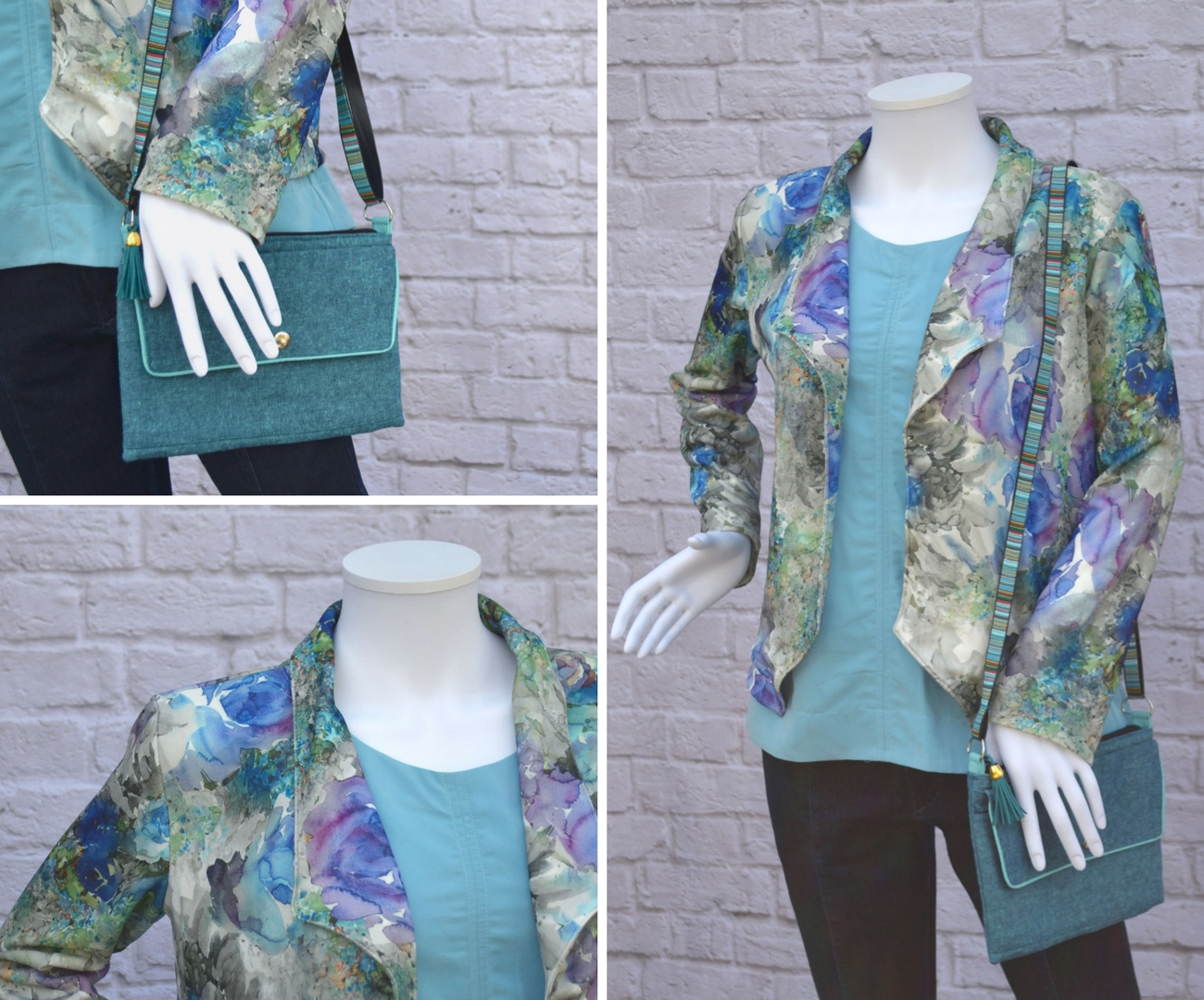 Morris Blazer and Hadley Top Outfit | Style Maker Fabrics