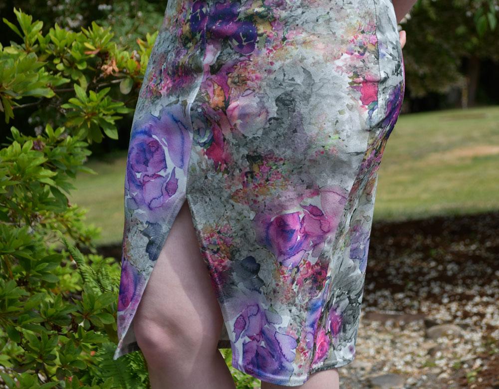 Wedding Axel Skirt Front Slit   Style Maker Fabrics