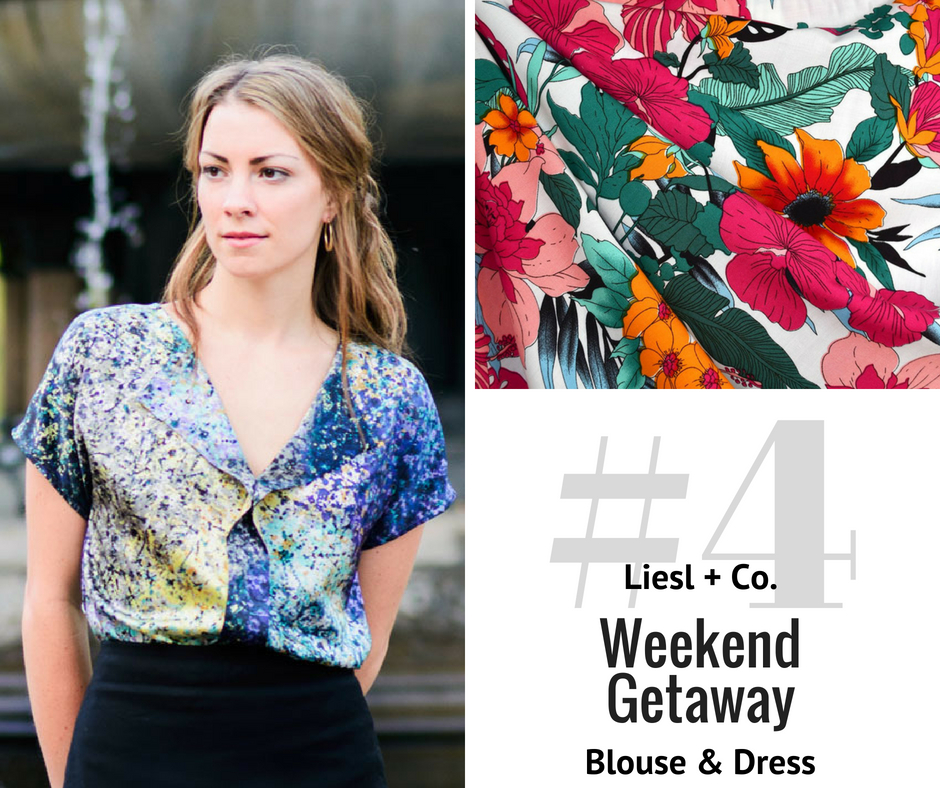 Top Pick: Weekend Getaway Blouse | Style Maker Fabrics