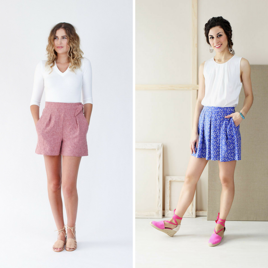 Light and Airy Indie Shorts | Style Maker Fabrics