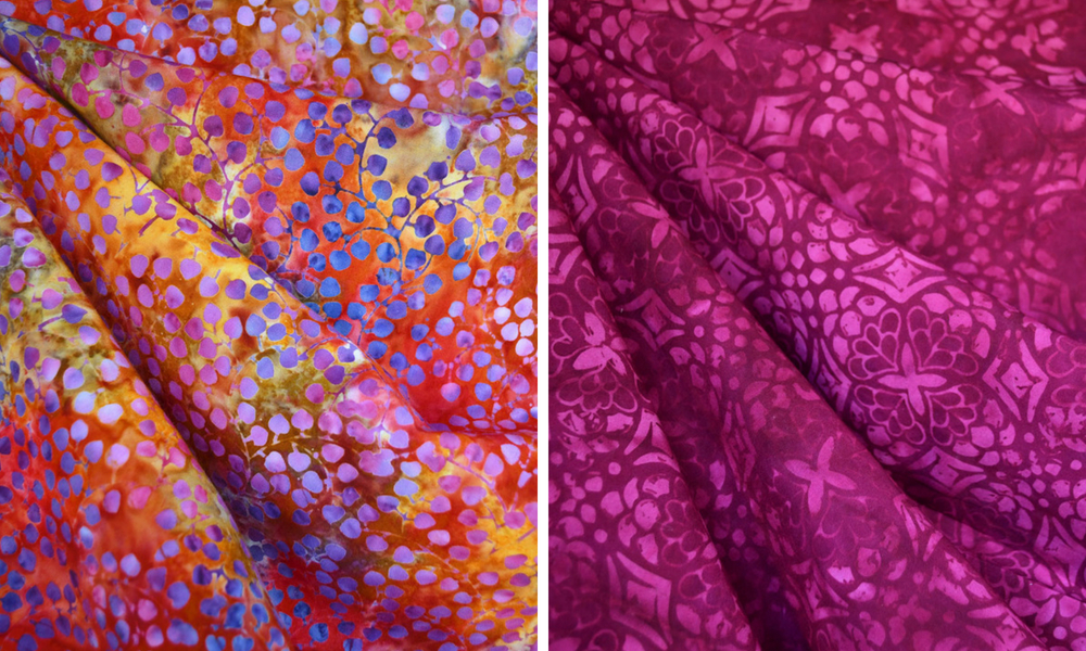 Metamorphic Dress in Rayon Batiks | Style Maker Fabrics
