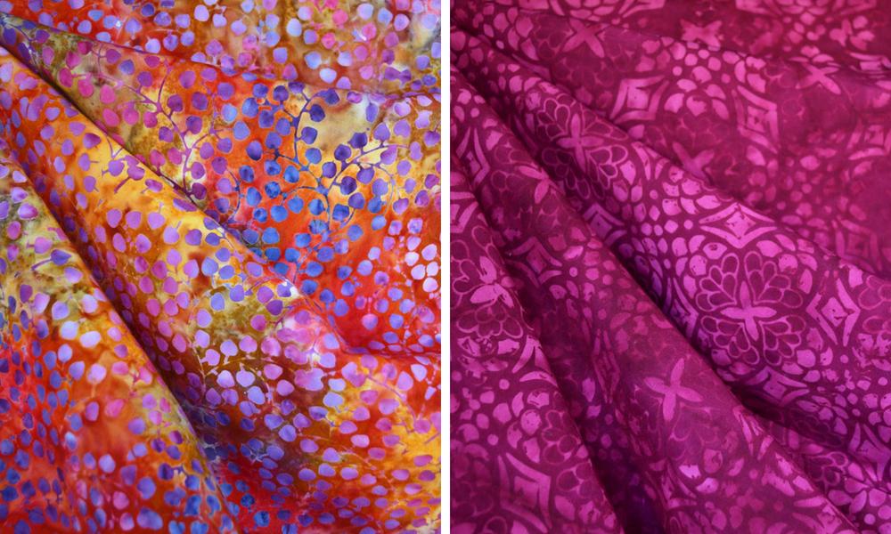 Metamorphic Dress in Rayon Batiks | Style Maker Fabrics