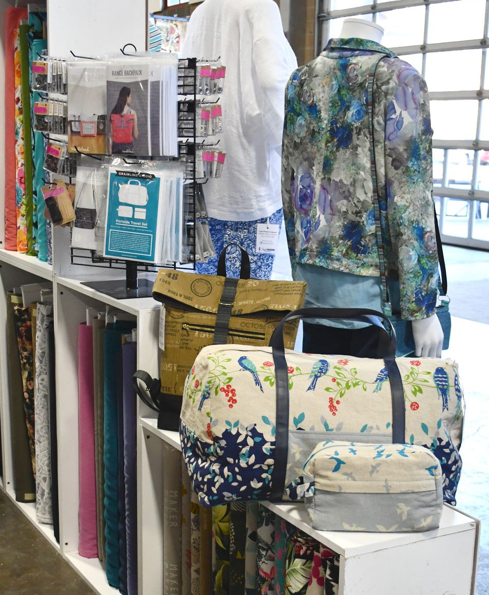 Sew Expo Display | Style Maker Fabrics
