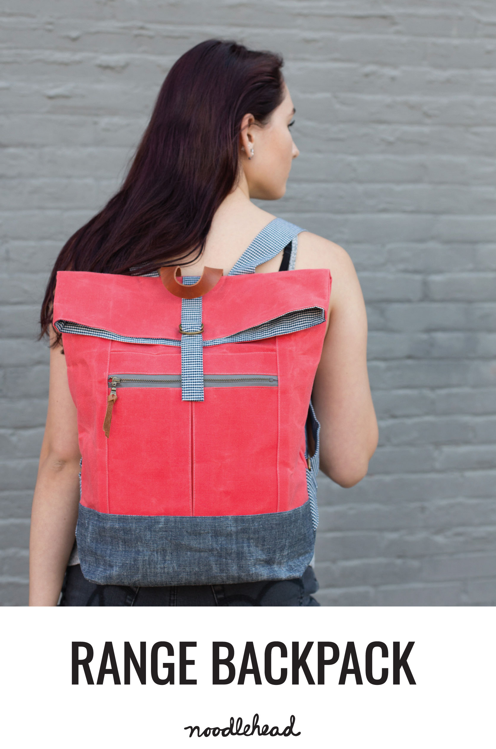 Range Backpack Pattern from Noodlehead | Style Maker Fabrics