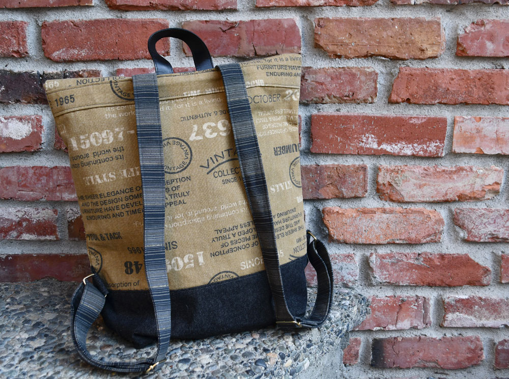 Range Backpack Reverse | Style Maker Fabrics