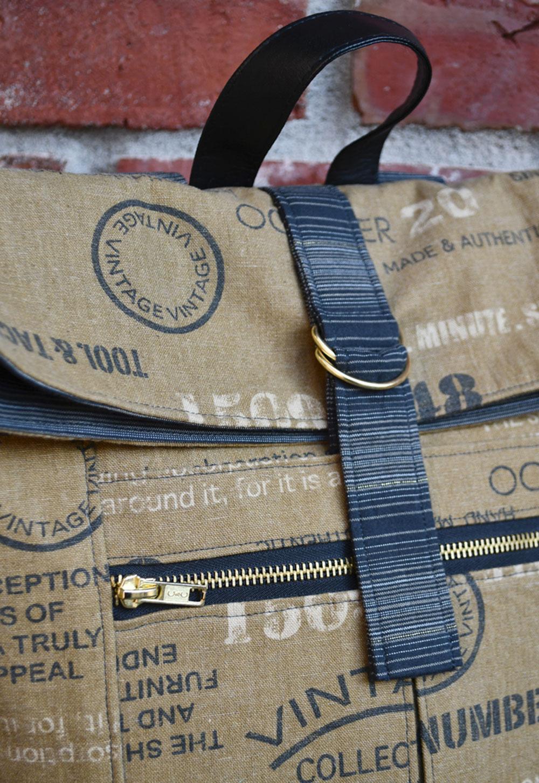 Range Backpack Details | Style Maker Fabrics
