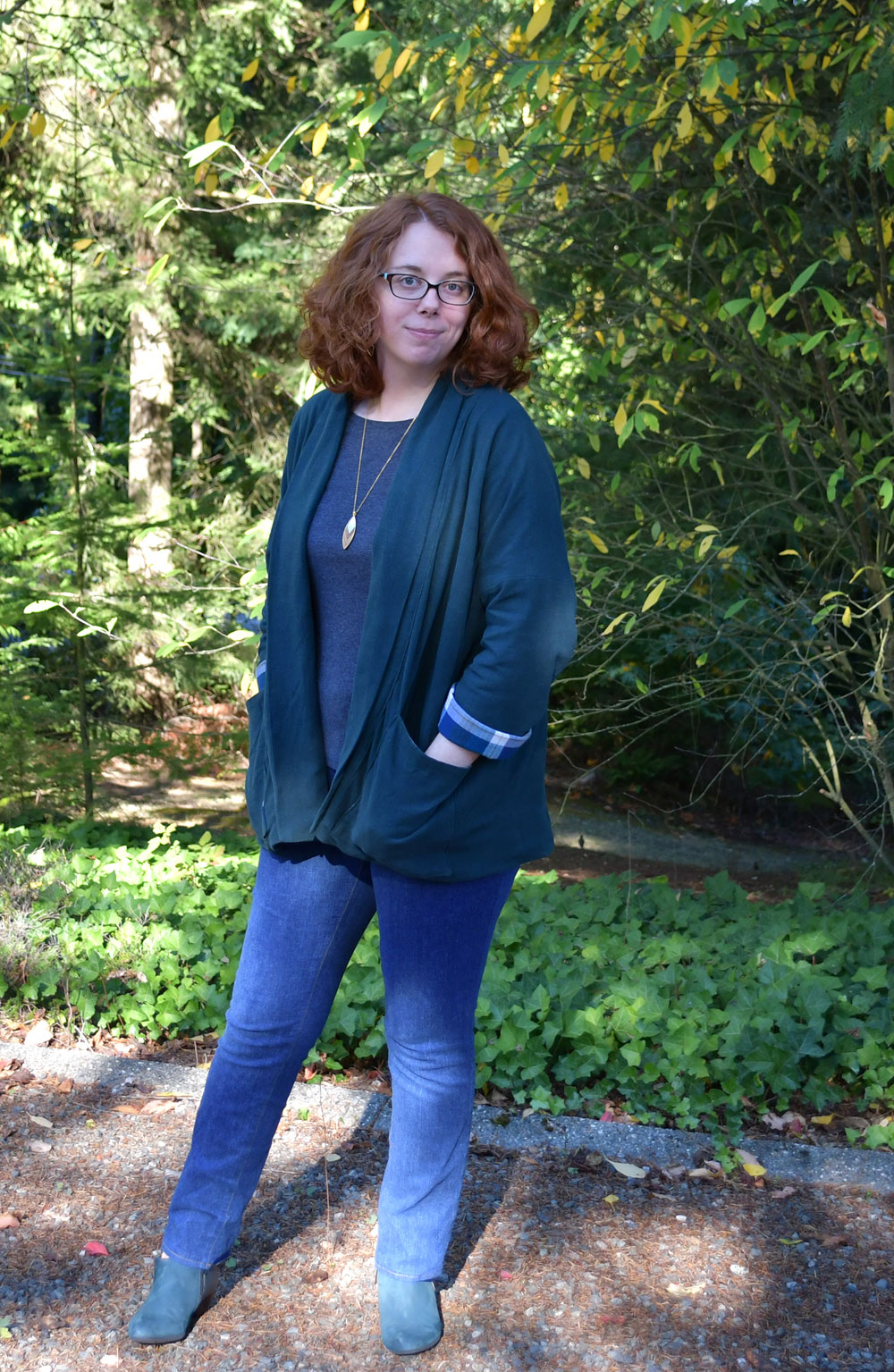 Wiksten Jacket and Ginger Jeans Outfit | Style Maker Fabircs