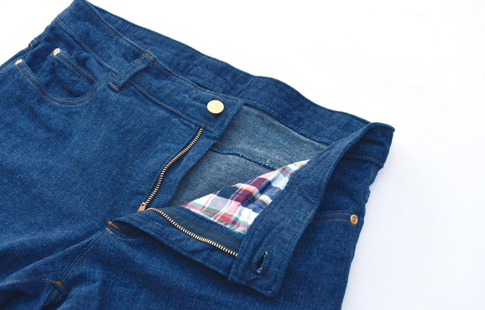 Ginger Jeans Finishing Details | Style Maker Fabrics