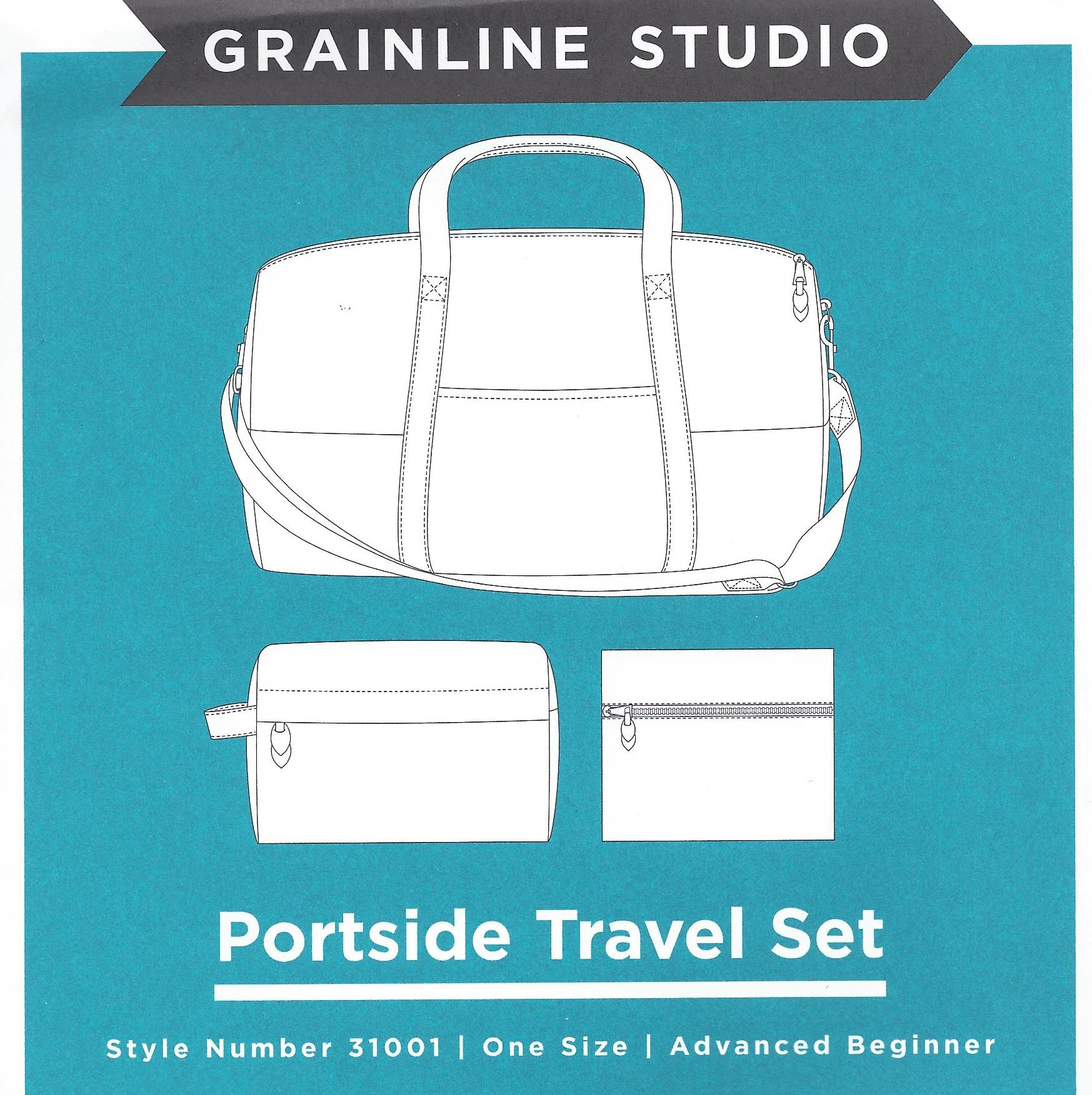 Portside Travel Set Sewing Pattern | Style Maker Fabrics