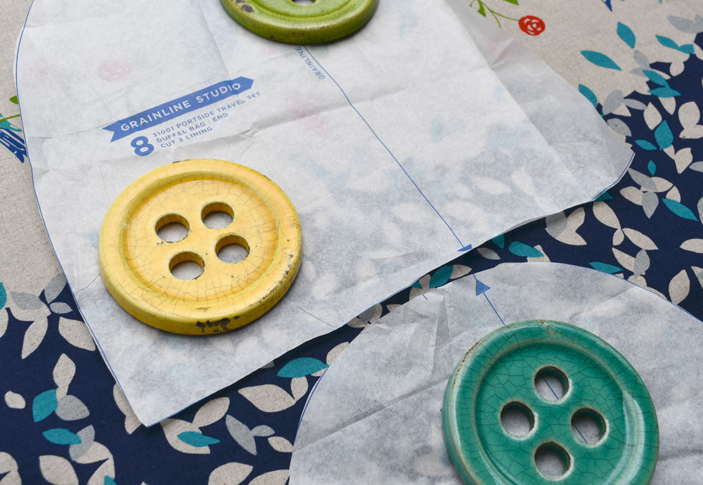 Portside Pattern Pieces | Style Maker Fabrics