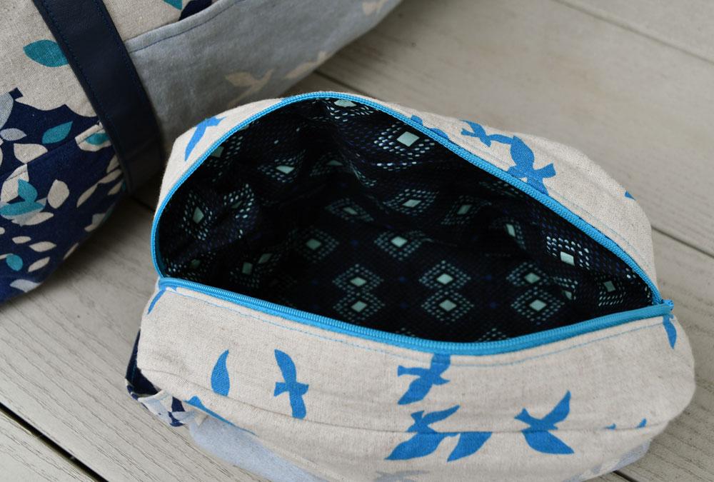 Portside Dopp Kit Lining | Style Maker Fabrics